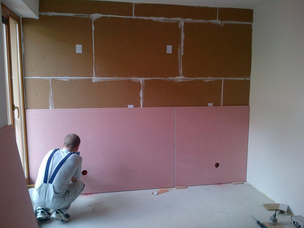 Akustická izolace stěn